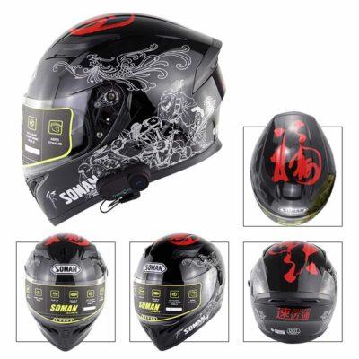 Vanell Dual Visor Full Face Motorcycle Helmet
