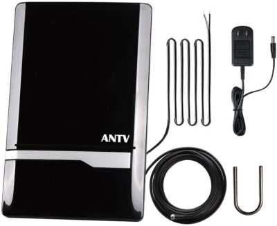 ANTOP Amplified Indoor AM/FM Antenna