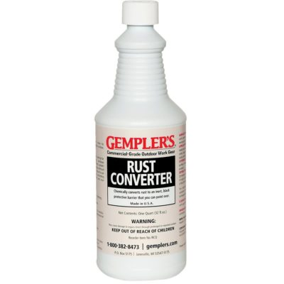 GEMPLER'S Eco-Friendly RCQ Rust Converter and Primer All-in-One