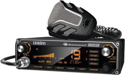 Uniden Bearcat 980 40-Channel SSB CB Radio
