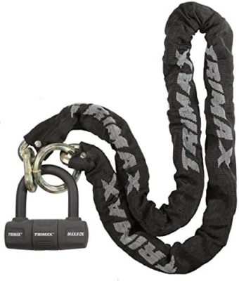 Trimax Thex 5 Foot Super Chain with U-Lock