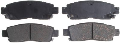 ACDelco Advantage Ceramic Rear Disc Brake Pad Set