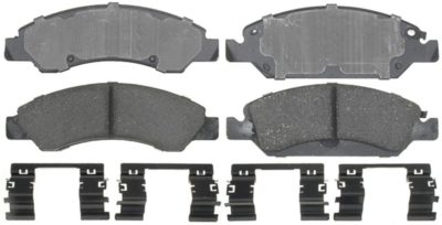 ACDelco Professional Ceramic Front Disc Brake Pad Set