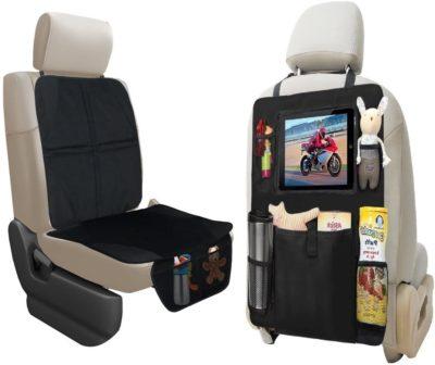 Car Seat Protector and Backseat Organizer