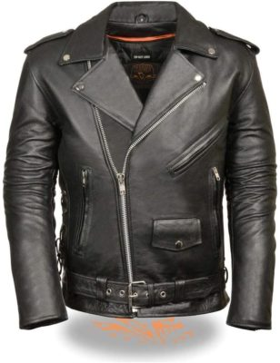 Milwaukee Leather Motorcycle Jacket