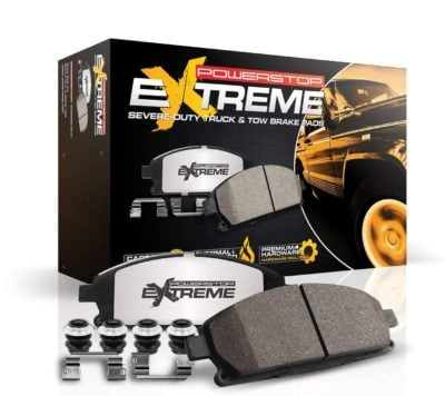 Power Stop Truck and Tow Carbon Fiber-Ceramic Brake Pads
