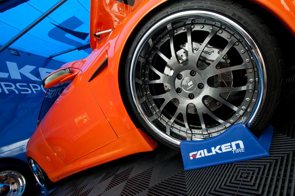 falken tire at car show