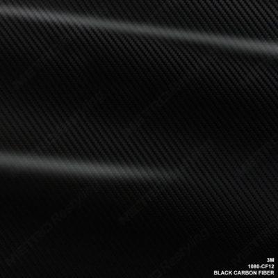 3M 1080 Black Carbon Fiber Vinyl Flex Wrap