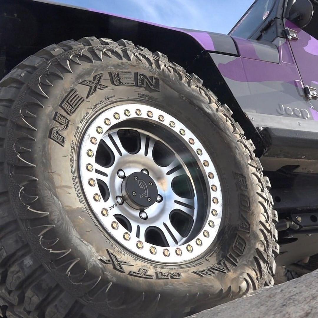 Nexen tire on a jeep wrangler
