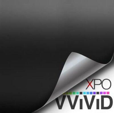 VViViD Black Matte Car Wrap Vinyl