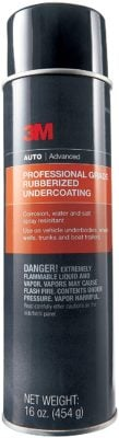 3M Professional Grade Rubberized Undercoating