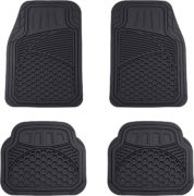AmazonBasics Four Piece Heavy Duty Car Floor Mat