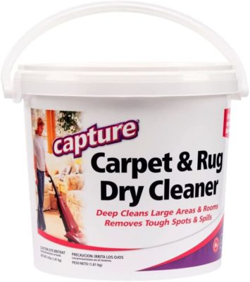 Capture Carpet Cleaning Powder