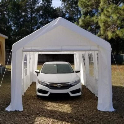 Overwhelming Heavy Duty Carport Garage