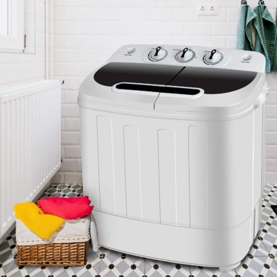 SUPER DEAL Portable Twin Tub Washing Machine