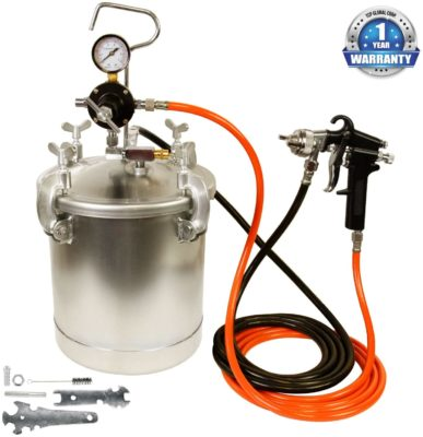 TCP Global Pressure Tank with Spray Gun