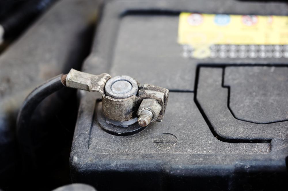 conventional 12v car battery