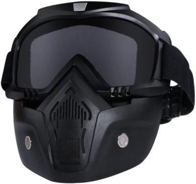 Detachable Fogproof Face Mask Goggles