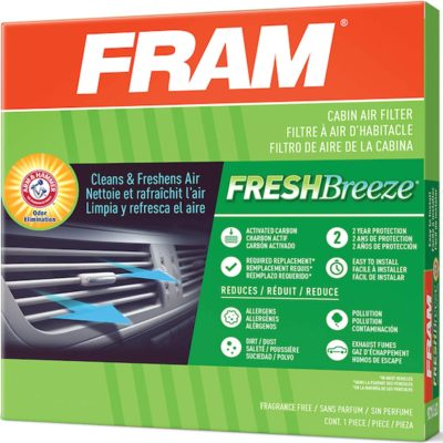 FRAM Fresh Breeze Cabin Air Filter