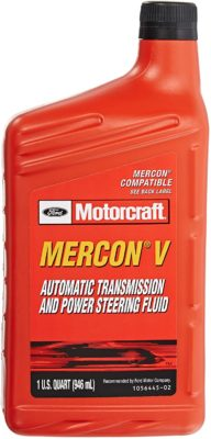 Ford Motorcraft Mercon-V Automatic Transmission and Power Steering Fluid