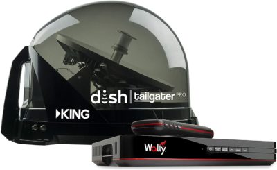 KING DTP4950 DISH Tailgater Pro Bundle