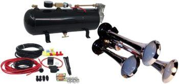 MPC M1 3-Trumpet Train Air Horn Kit
