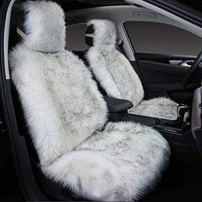 Maples Faux Sheepskin Wool Seat Cover