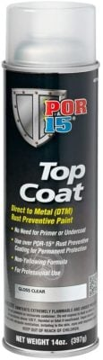 POR-15 45718 Top Coat Gloss Clear