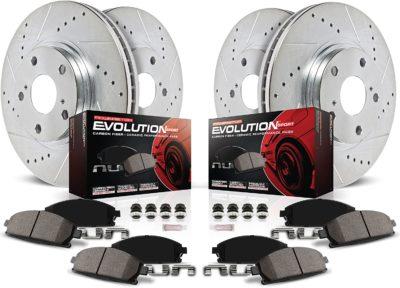 Power Stop K2164 Front & Rear Brake Kit