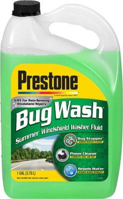 Prestone Bug Wash Windshield Washer Fluid