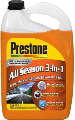 Prestone Deluxe 3-in-1 Windshield Washer Fluid