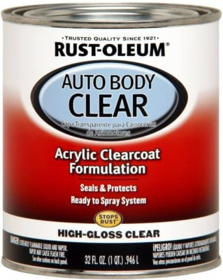 Rust-Oleum Automotive Gloss Clear Body Coat