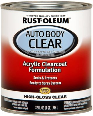 Rust-Oleum Automotive Gloss Clear Body Coat