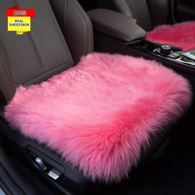 Sisha Sheepskin Seat Cushion Cover
