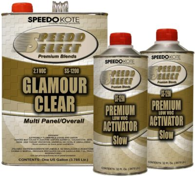 SpeedoKote Ultra High Gloss Glamour Clear