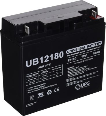UPG UBCD5745 Sealed Lead Acid Battery