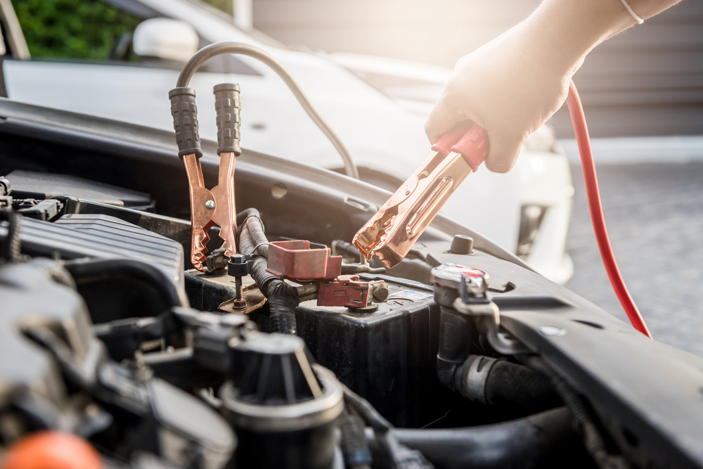 Using an AGM battery charger on a car