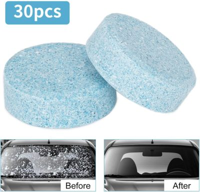 Wemk Car Windshield Glass Concentrated Clean Washer Tablets