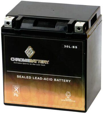 Chrome Battery YTX30L-BS