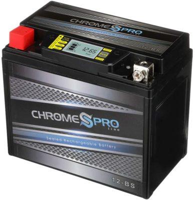 Chrome YTX12-BS
