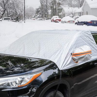 Marksign Windshield Cover