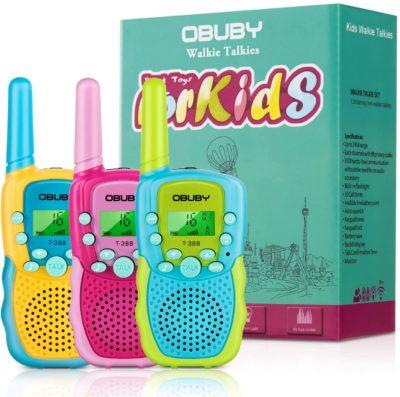 Obuby Walkie-Talkies for Kids
