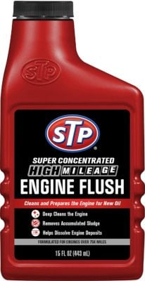 STP 18566 High-Mileage Engine Flush