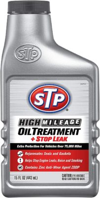 STP High Mileage Oil Treatment