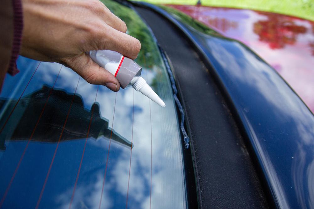 glue car exterior