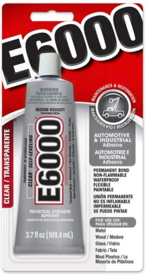 E6000 230022 Medium Viscosity Adhesive