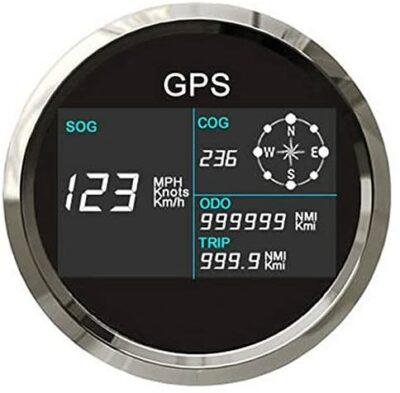ELING Digital GPS LCD 85 mm Speedometer