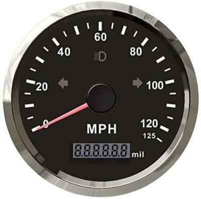 Eling MPH GPS Speedometer with Adjustable Overspeed Alarm