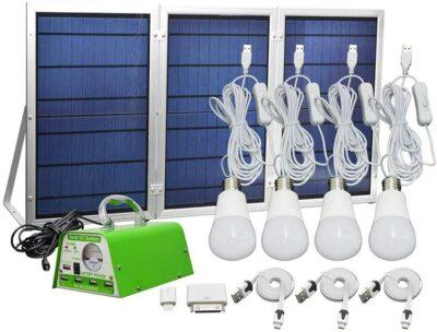GVSHINE 30W Panel Foldable Solar Panel Kit