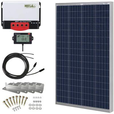 HQST 100 Watt Solar Panel Kit